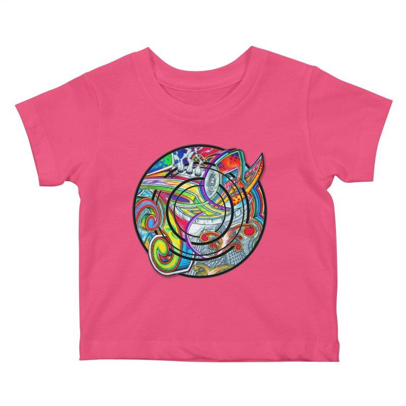 Cyclical Zero Kids Baby T-Shirt by inbrightestday's Artist Shop