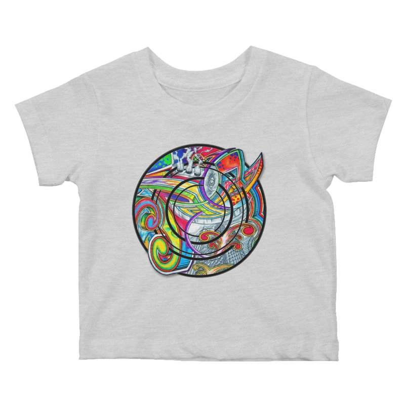 Cyclical Zero Kids Baby T-Shirt by inbrightestday's Artist Shop