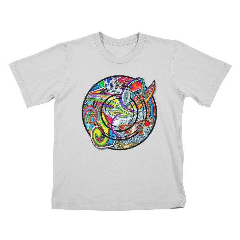 Cyclical Zero Kids T-Shirt by inbrightestday's Artist Shop