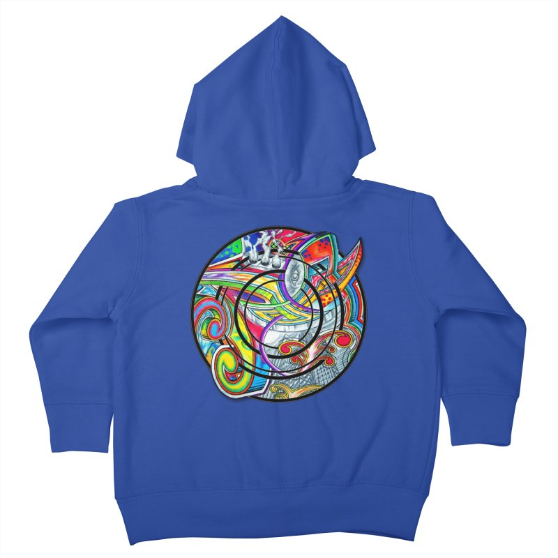 Cyclical Zero Kids Toddler Zip-Up Hoody by inbrightestday's Artist Shop