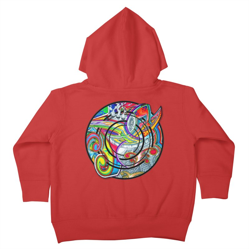 Cyclical Zero Kids Toddler Zip-Up Hoody by inbrightestday's Artist Shop