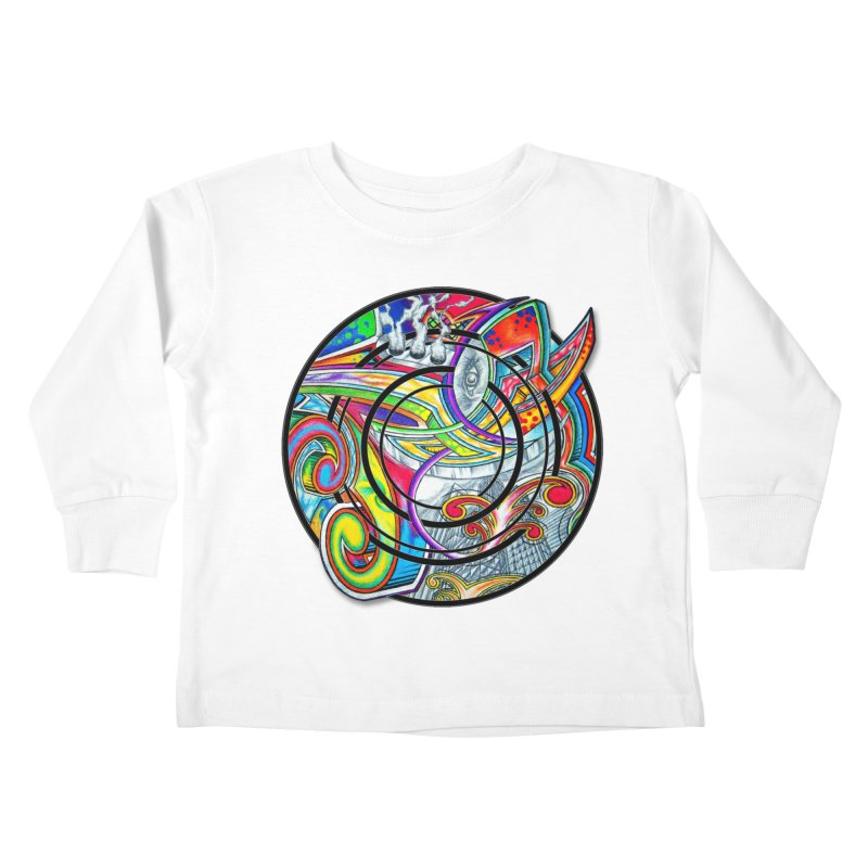 Cyclical Zero Kids Toddler Longsleeve T-Shirt by inbrightestday's Artist Shop