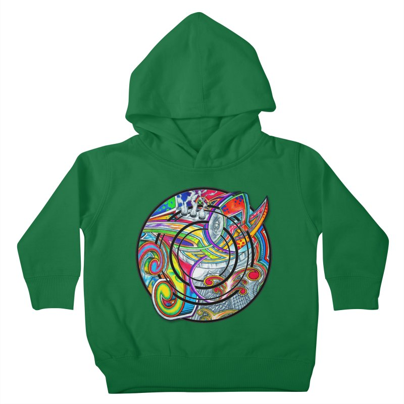 Cyclical Zero Kids Toddler Pullover Hoody by inbrightestday's Artist Shop