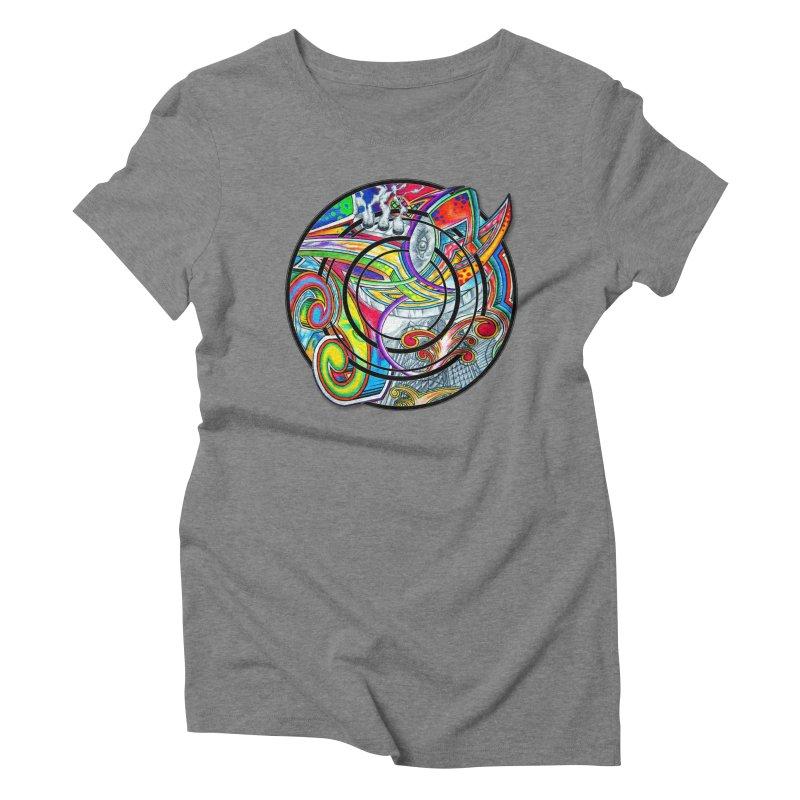 Cyclical Zero Women's Triblend T-Shirt by inbrightestday's Artist Shop