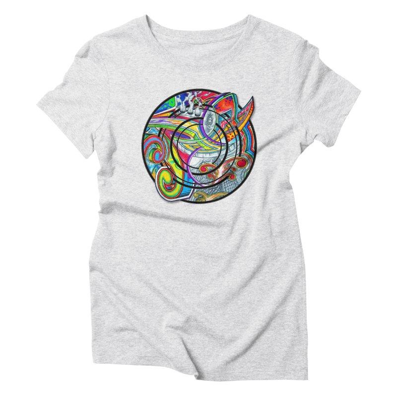 Cyclical Zero Women's T-Shirt by inbrightestday's Artist Shop