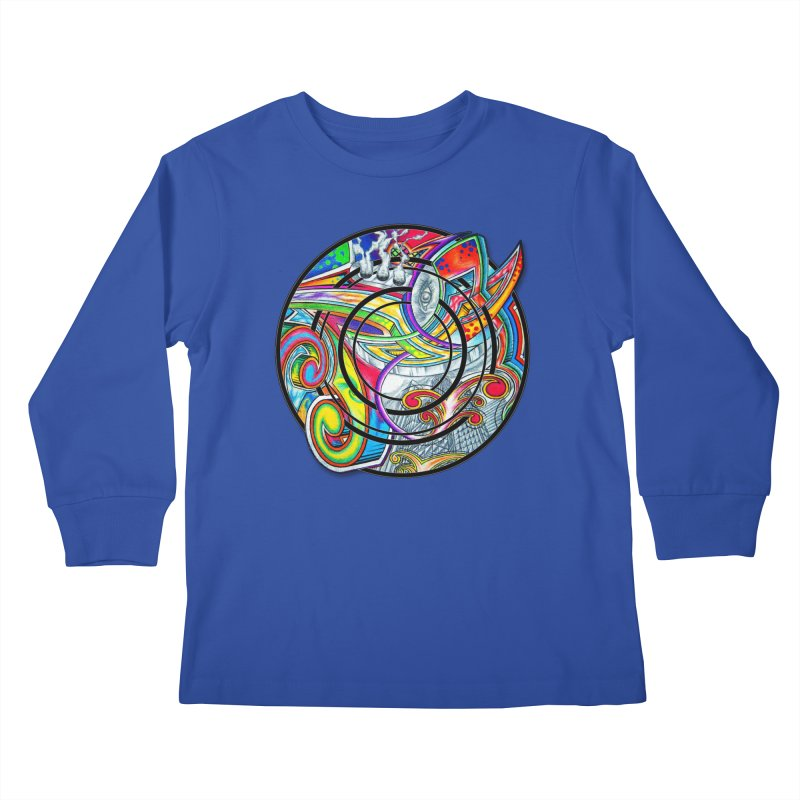 Cyclical Zero Kids Longsleeve T-Shirt by inbrightestday's Artist Shop
