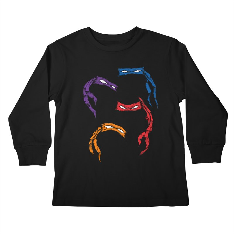 Four Brothers Kids Longsleeve T-Shirt by inbrightestday's Artist Shop