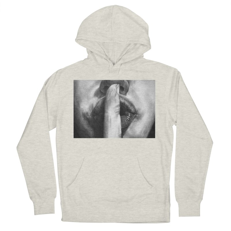 Hush Women's Pullover Hoody by inbrightestday's Artist Shop