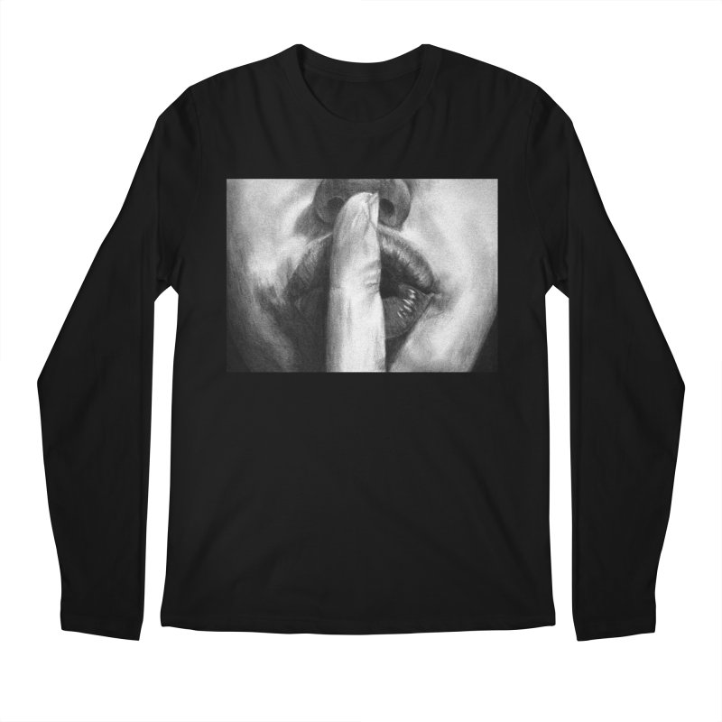 Hush Men's Longsleeve T-Shirt by inbrightestday's Artist Shop