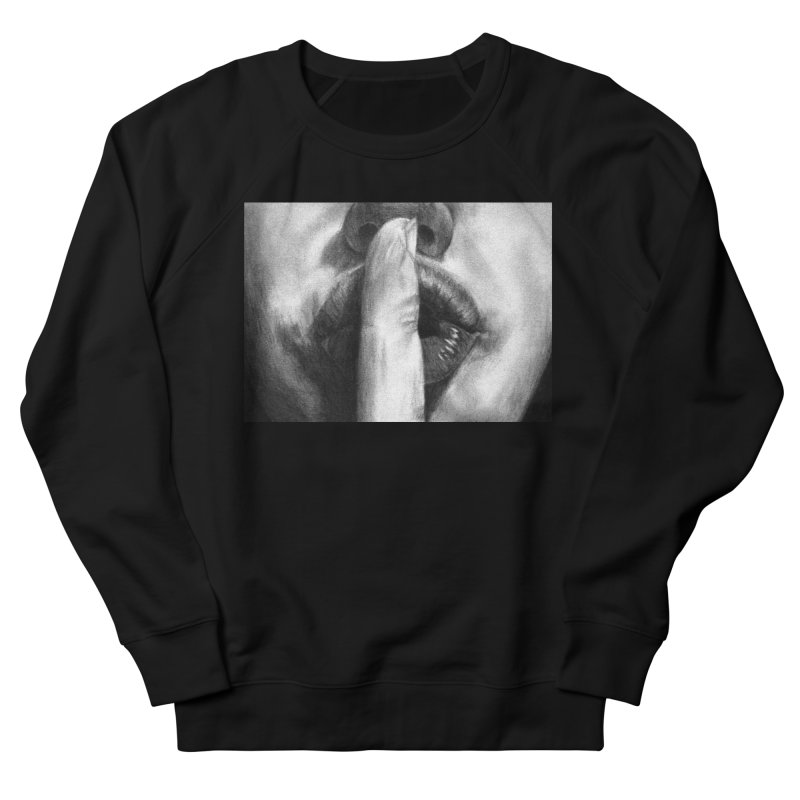 Hush Women's Sweatshirt by inbrightestday's Artist Shop