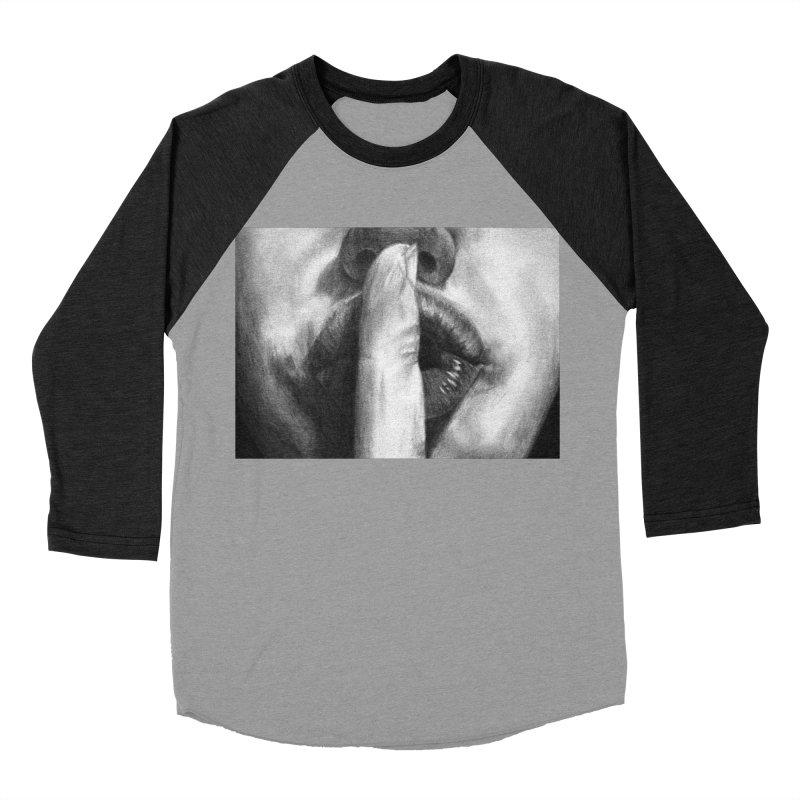 Hush Women's Baseball Triblend T-Shirt by inbrightestday's Artist Shop