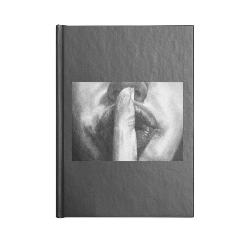 Hush Accessories Notebook by inbrightestday's Artist Shop