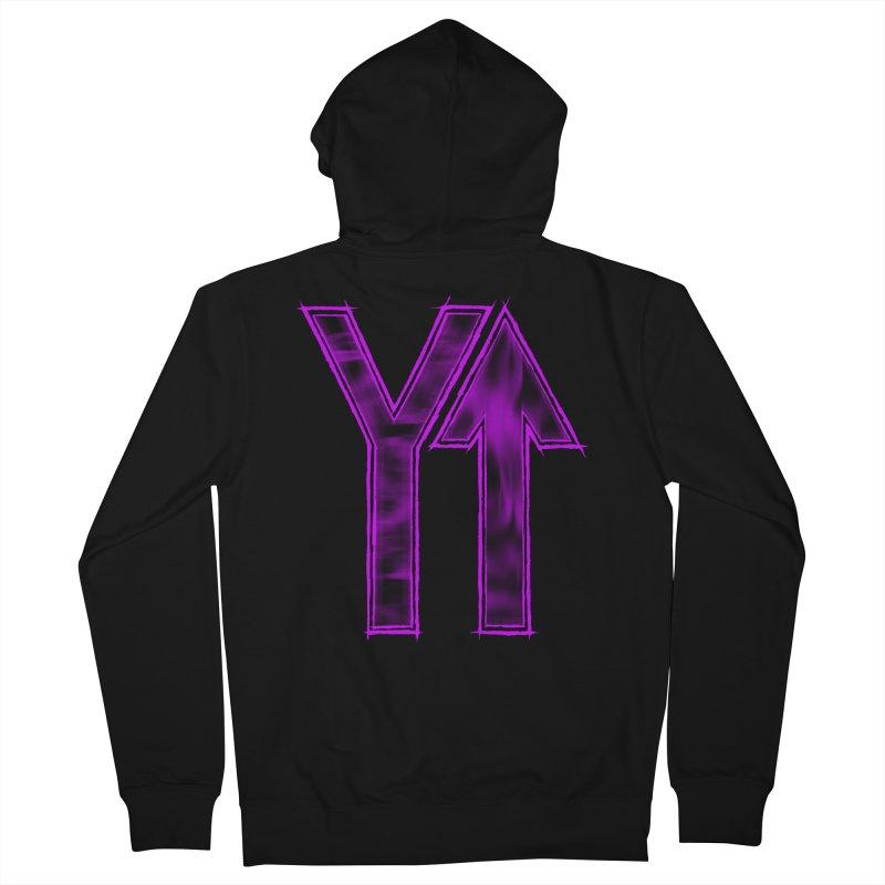 YUP!! Men's Zip-Up Hoody by inbrightestday's Artist Shop