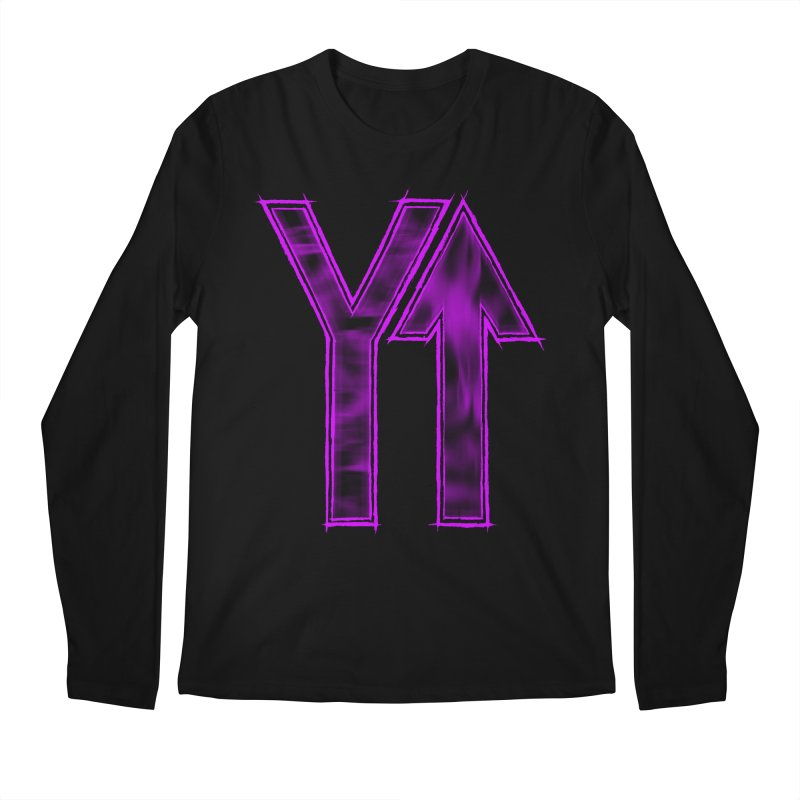 YUP!! Men's Longsleeve T-Shirt by inbrightestday's Artist Shop