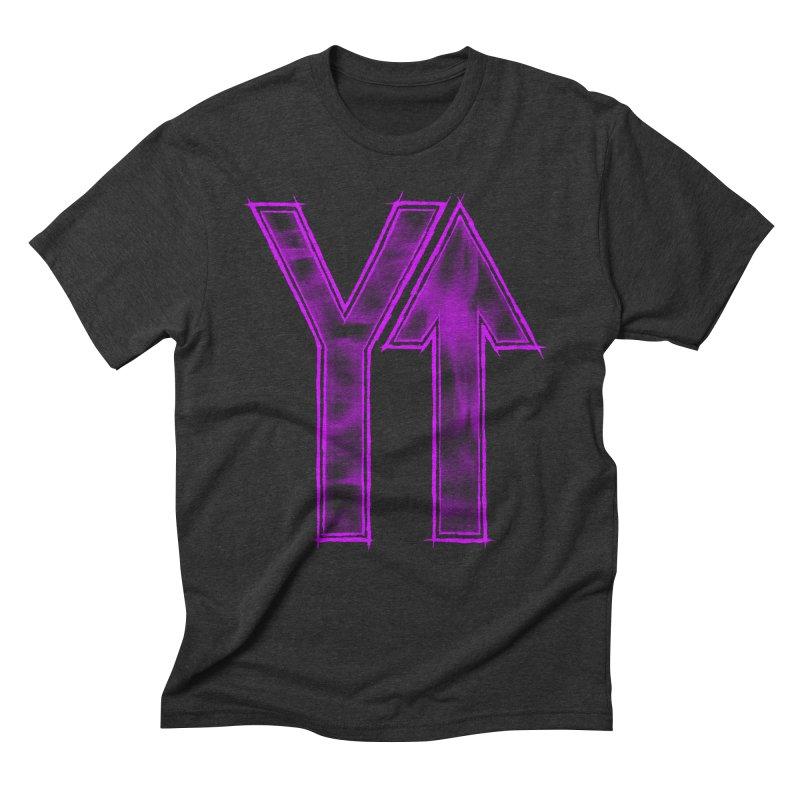 YUP!! Men's Triblend T-Shirt by inbrightestday's Artist Shop