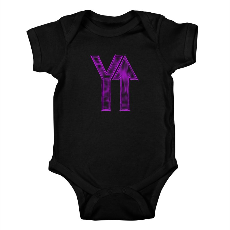 YUP!! Kids Baby Bodysuit by inbrightestday's Artist Shop