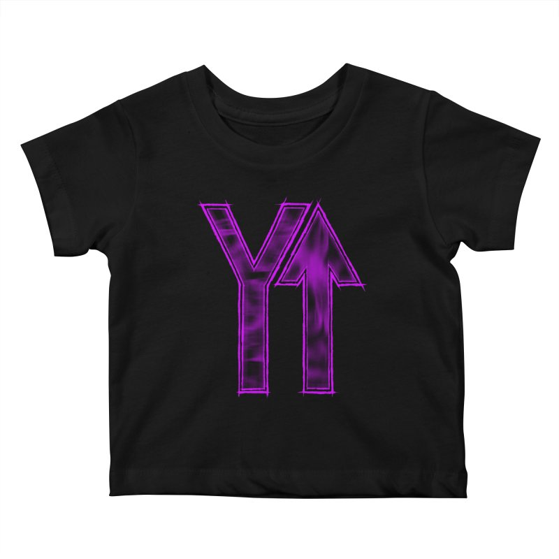 YUP!! Kids Baby T-Shirt by inbrightestday's Artist Shop