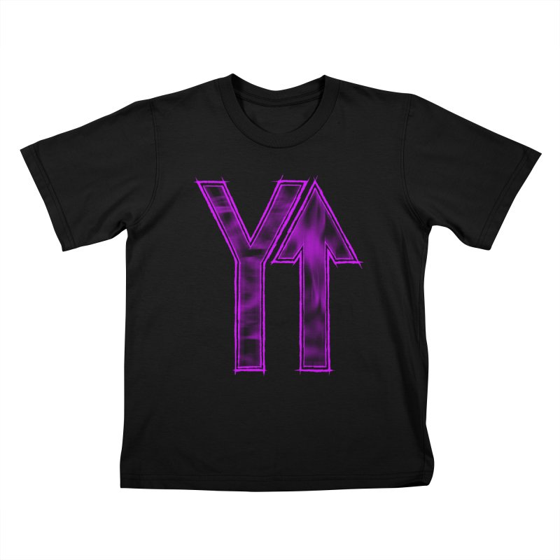 YUP!! Kids T-shirt by inbrightestday's Artist Shop