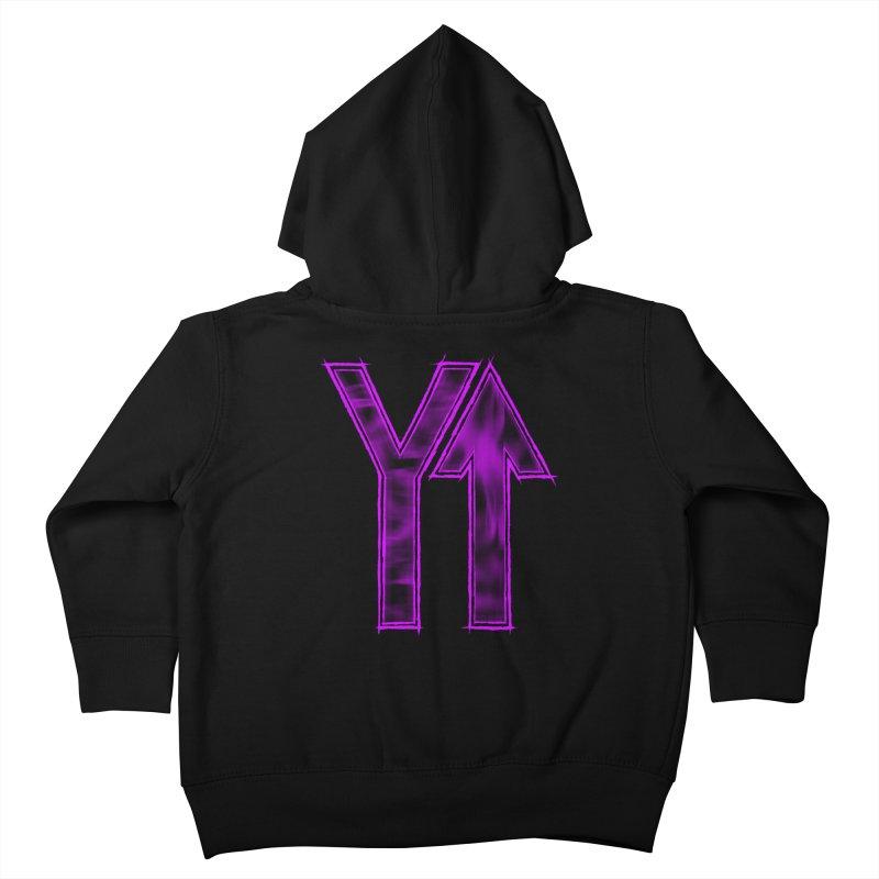 YUP!! Kids Toddler Zip-Up Hoody by inbrightestday's Artist Shop