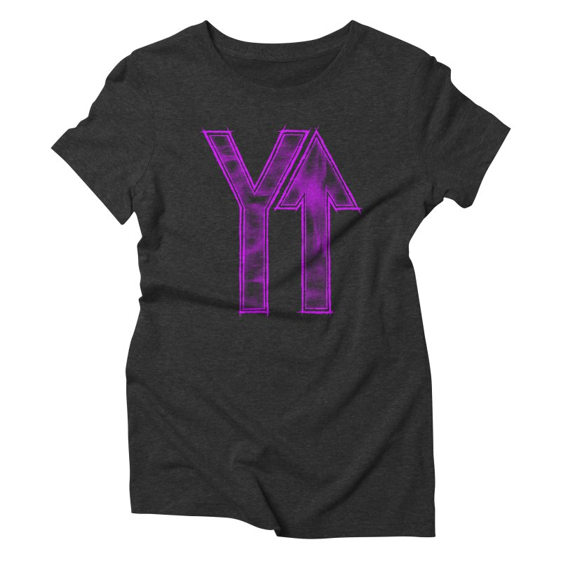 YUP!! Women's Triblend T-shirt by inbrightestday's Artist Shop