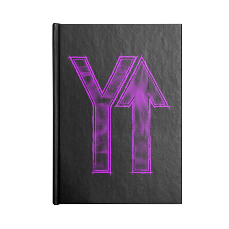 YUP!! Accessories Notebook by inbrightestday's Artist Shop