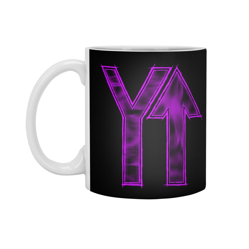 YUP!! Accessories Standard Mug by inbrightestday's Artist Shop