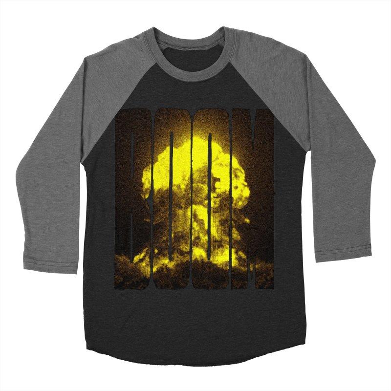 BOOM Women's Baseball Triblend T-Shirt by inbrightestday's Artist Shop
