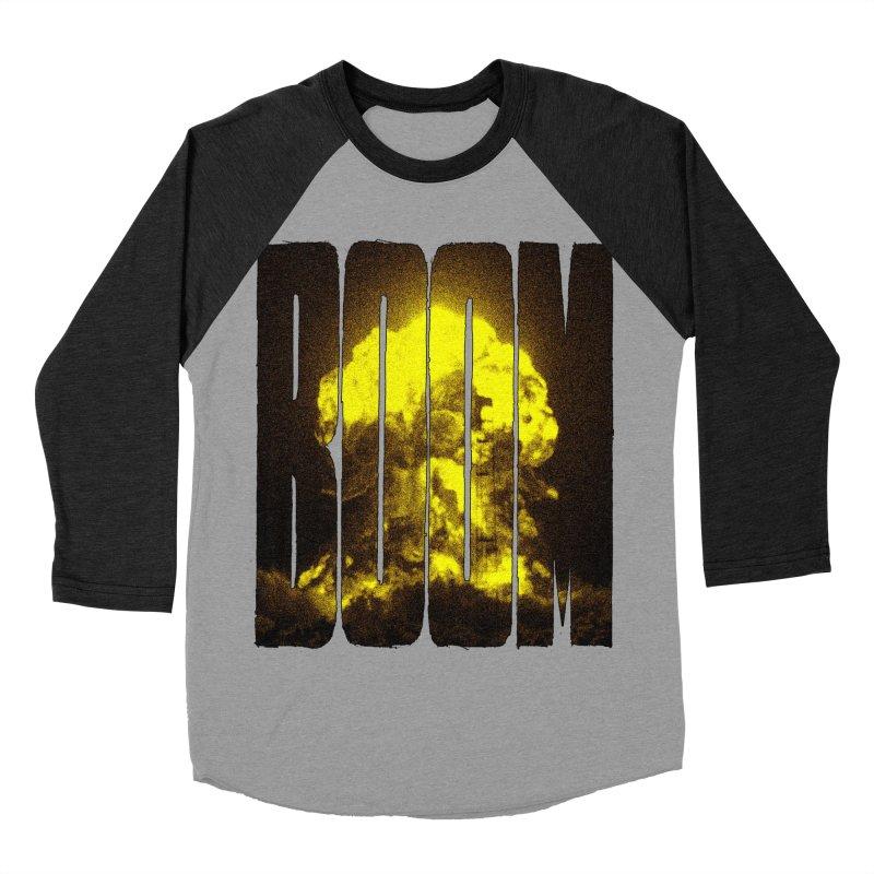 BOOM Men's Baseball Triblend T-Shirt by inbrightestday's Artist Shop