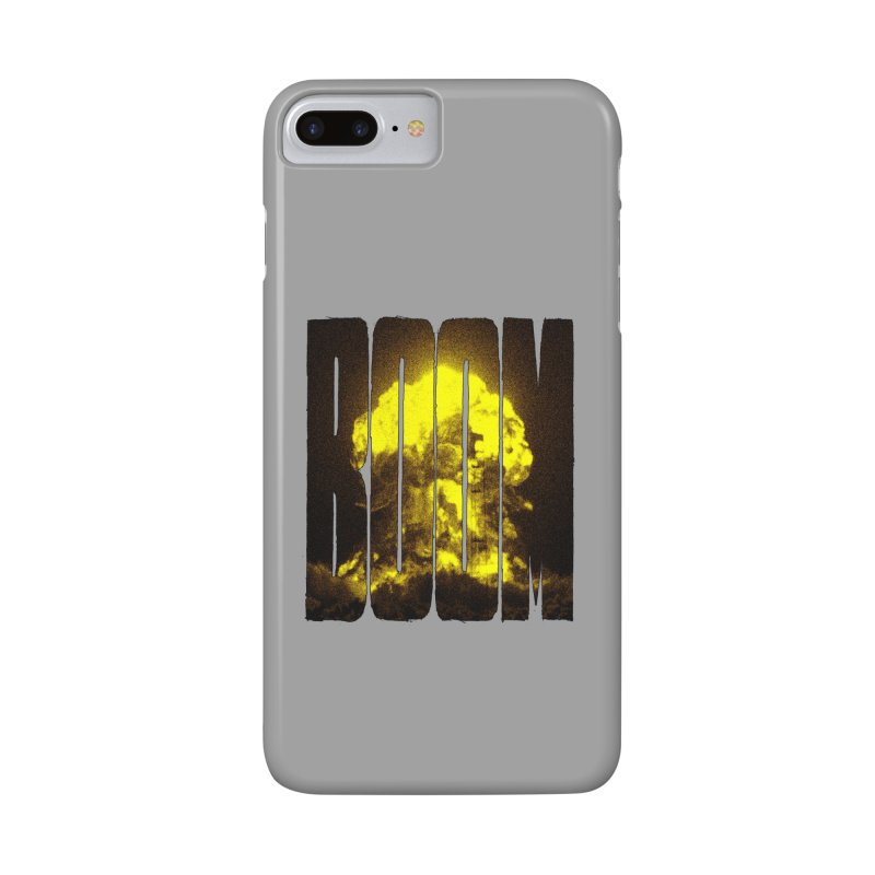 BOOM Accessories Phone Case by inbrightestday's Artist Shop