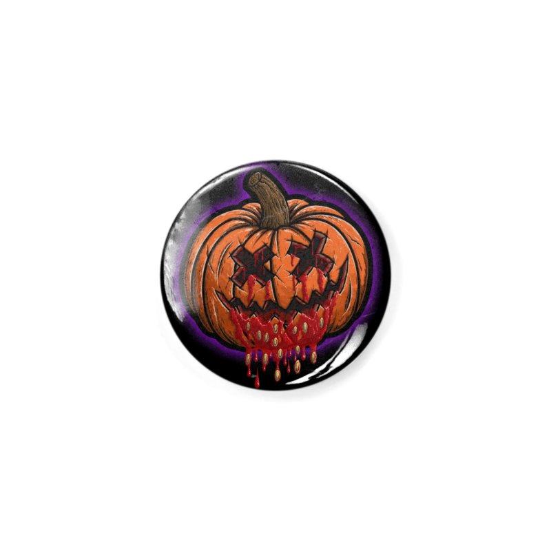 Pumpkin Sliced Accessories Button by inbrightestday's Artist Shop