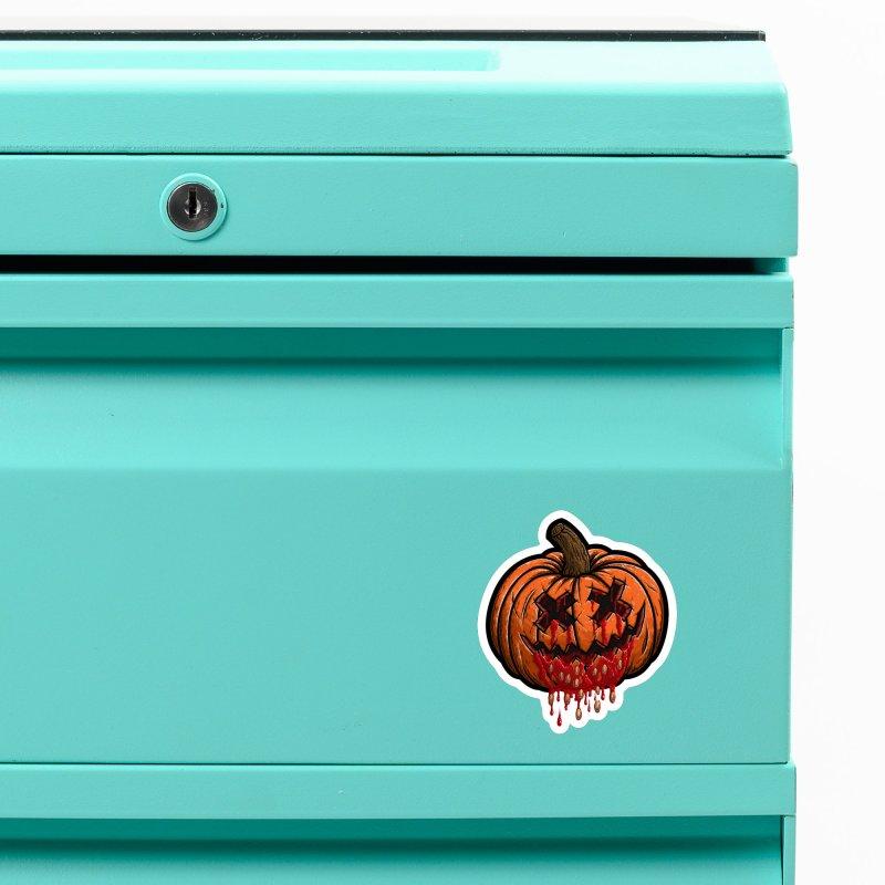 Pumpkin Sliced Accessories Magnet by inbrightestday's Artist Shop