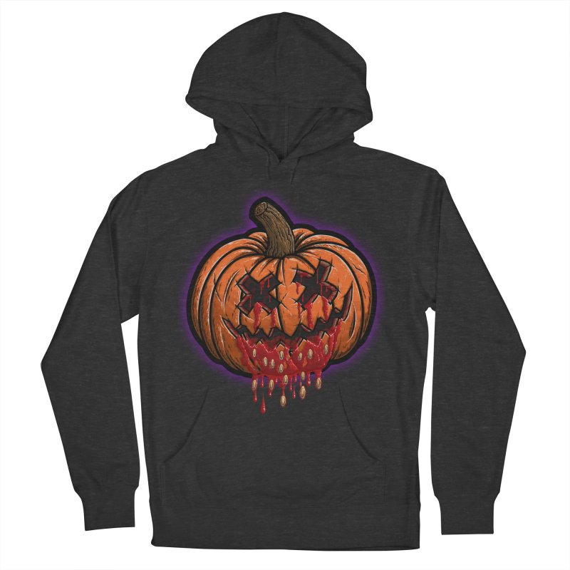 Pumpkin Sliced Women's French Terry Pullover Hoody by inbrightestday's Artist Shop