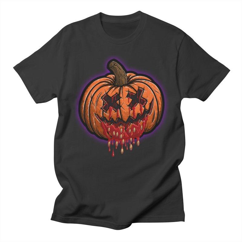 Pumpkin Sliced Men's Regular T-Shirt by inbrightestday's Artist Shop