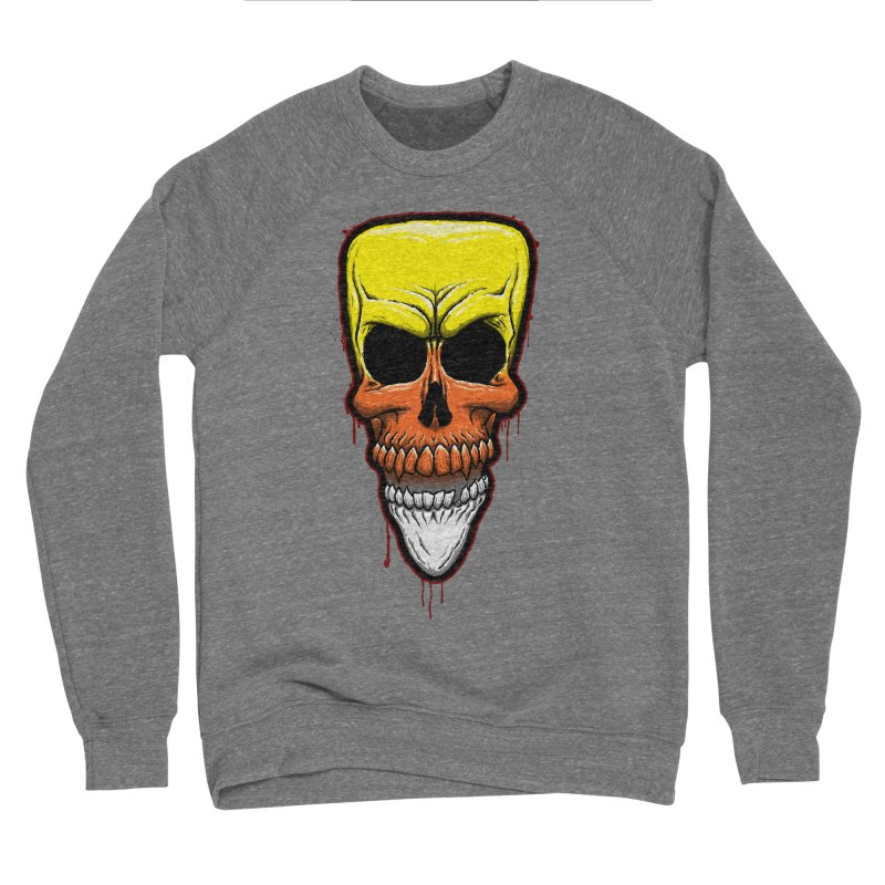 Candy Skull Women's Sponge Fleece Sweatshirt by inbrightestday's Artist Shop