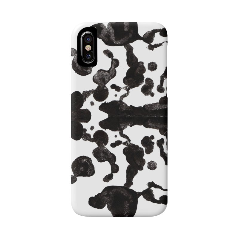 Who Watches the Rorschach Accessories Phone Case by inbrightestday's Artist Shop