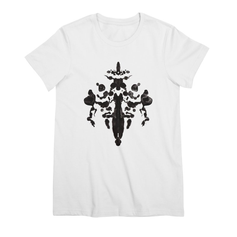 Who Watches the Rorschach Women's T-Shirt by inbrightestday's Artist Shop