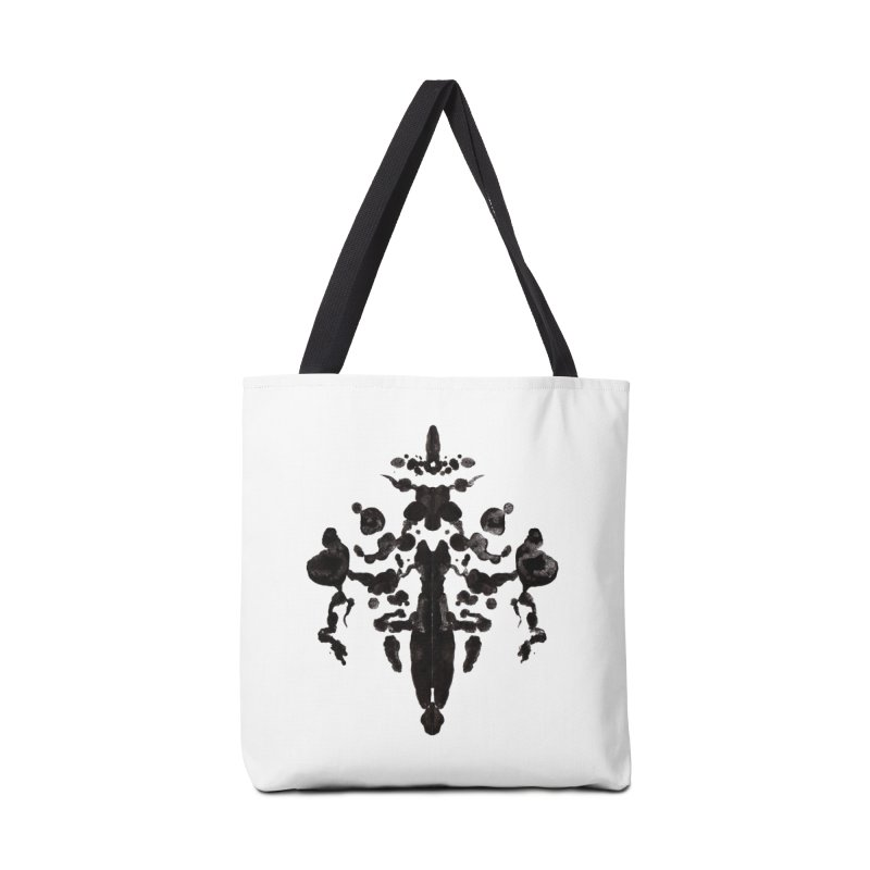 Who Watches the Rorschach Accessories Bag by inbrightestday's Artist Shop