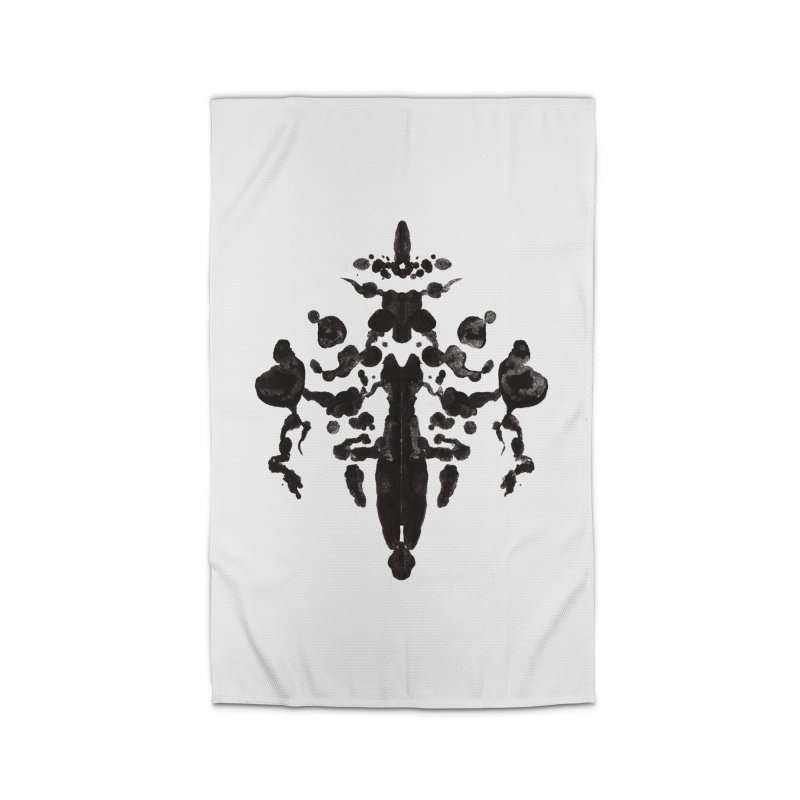 Who Watches the Rorschach Home Rug by inbrightestday's Artist Shop