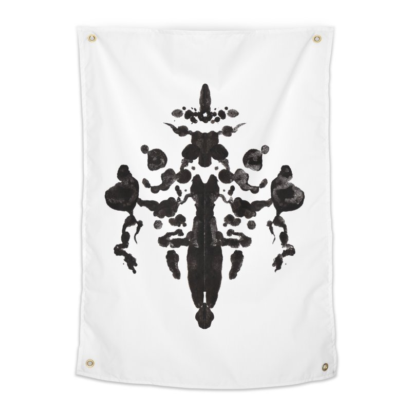 Who Watches the Rorschach Home Tapestry by inbrightestday's Artist Shop