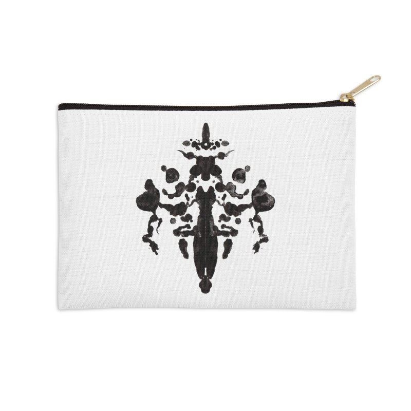 Who Watches the Rorschach Accessories Zip Pouch by inbrightestday's Artist Shop