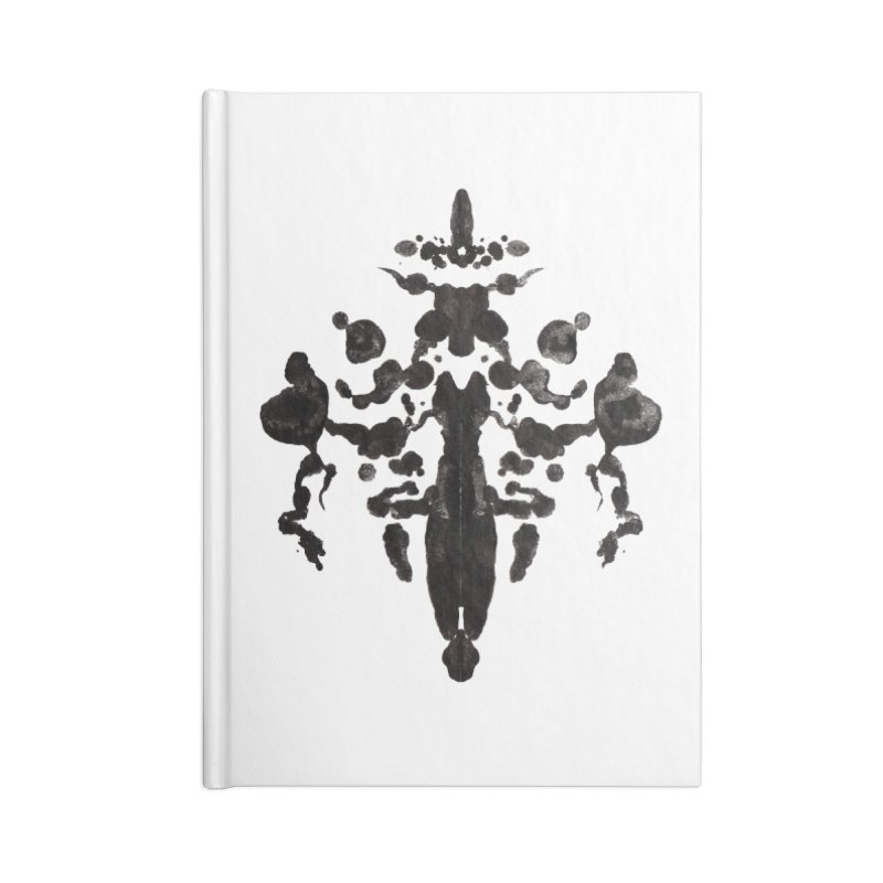 Who Watches the Rorschach Accessories Notebook by inbrightestday's Artist Shop