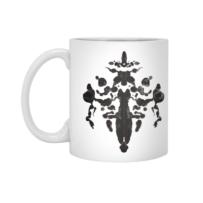 Who Watches the Rorschach Accessories Standard Mug by inbrightestday's Artist Shop
