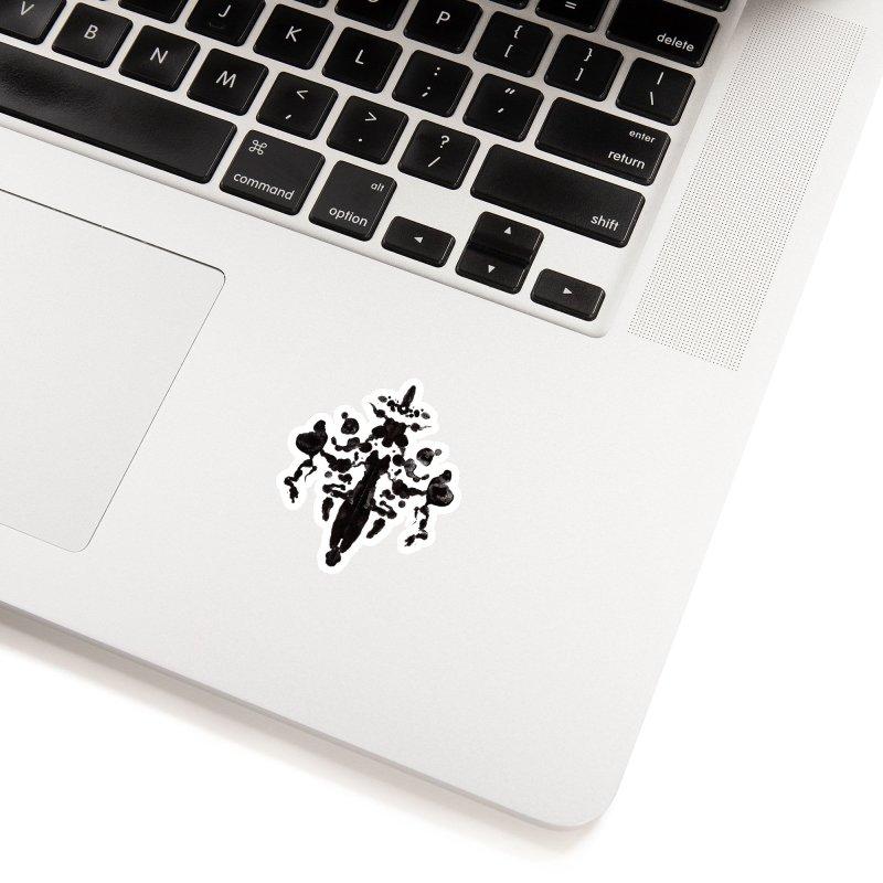 Who Watches the Rorschach Accessories Sticker by inbrightestday's Artist Shop