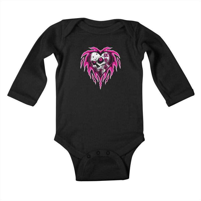 Sharpshooter Kids Baby Longsleeve Bodysuit by inbrightestday's Artist Shop