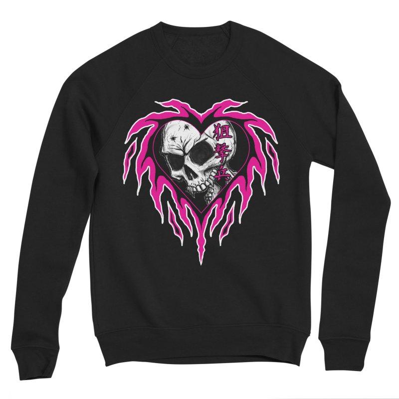 Sharpshooter Women's Sponge Fleece Sweatshirt by inbrightestday's Artist Shop