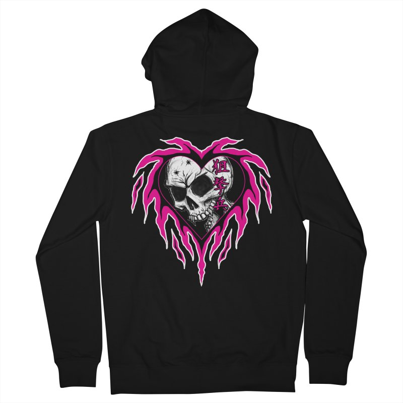 Sharpshooter Men's French Terry Zip-Up Hoody by inbrightestday's Artist Shop