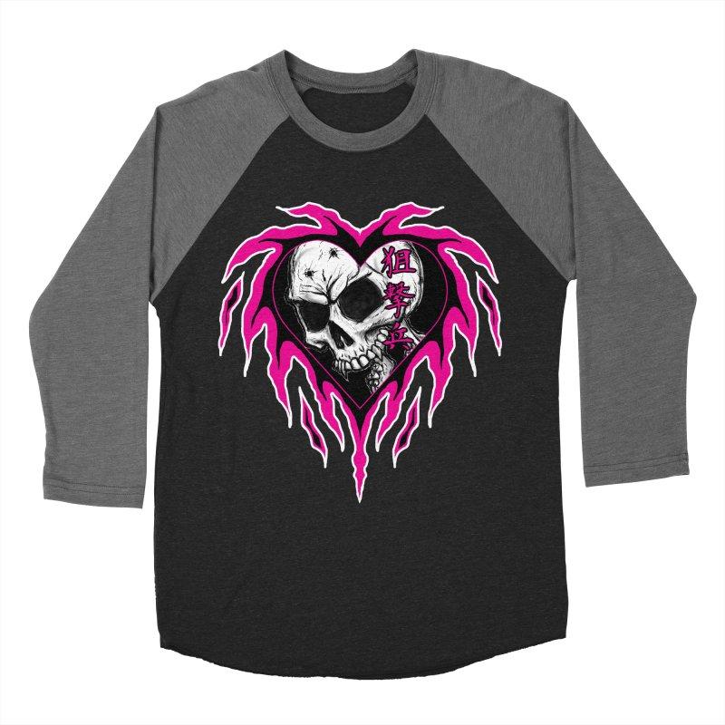 Sharpshooter Men's Baseball Triblend Longsleeve T-Shirt by inbrightestday's Artist Shop