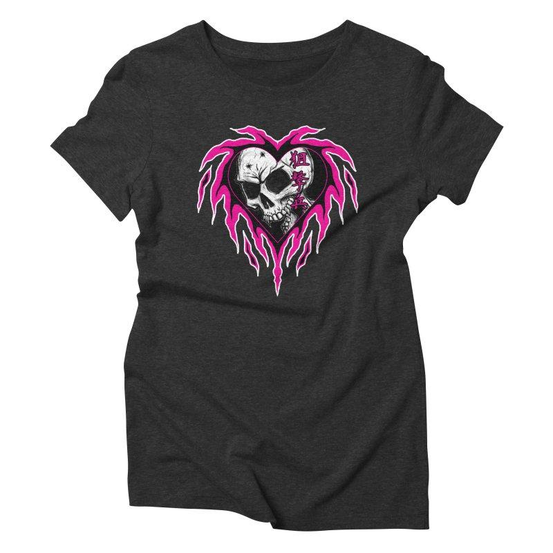 Sharpshooter Women's Triblend T-Shirt by inbrightestday's Artist Shop