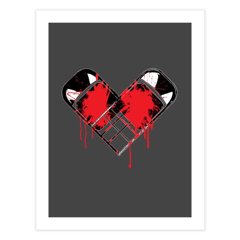 Bleeding Heart Home Fine Art Print by inbrightestday's Artist Shop