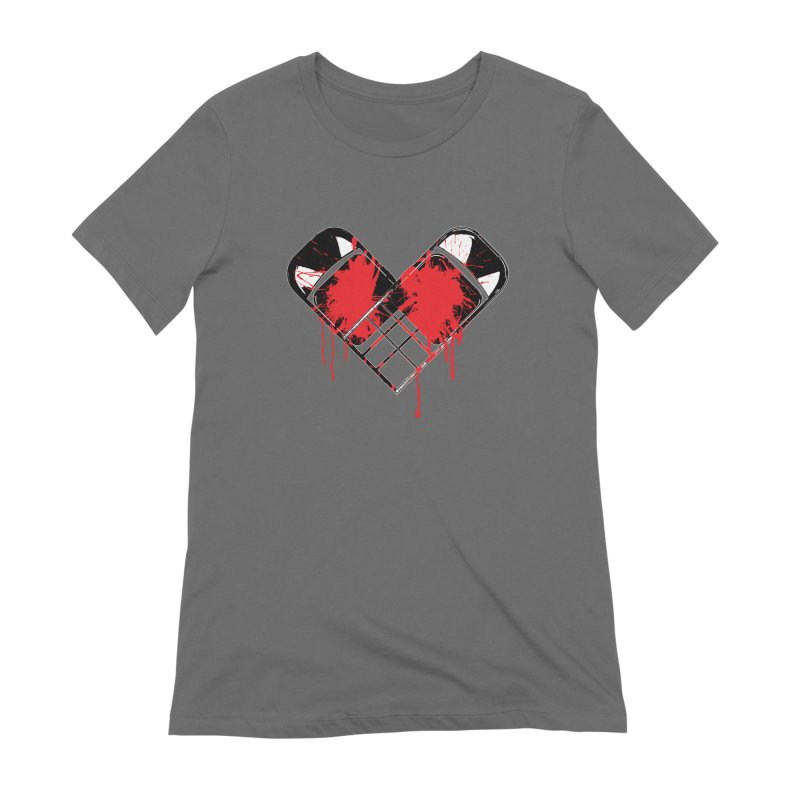 Bleeding Heart Women's Extra Soft T-Shirt by inbrightestday's Artist Shop